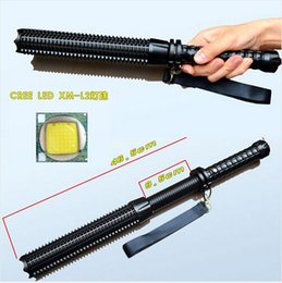 Drop shipping 2016 NEW CREE XML XM-L L2 led flashlight 2500 lumens 5-modes self defense Tactical light flashlights