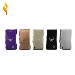 Wholesale Arctic Dolphin ADT w Temperture Control Mod Watt Box Mods With USB Charging Port and Heating Emission Holes Mechanical Mod