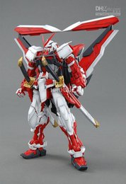 Wholesale Genuine BANDAI MG am Astray Red Frame Model Building Kits Original collection