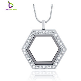 2016 Hot !! Silver magnetic glass floating charm locket Zinc Alloy+Rhainstone (chains included for free)LSFL037-1