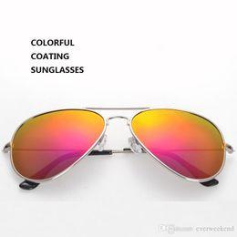 Wholesale Polarized Vintage Sunglasses REVO Color Coating UV TAC Lenses Aluminum Alloy Frame Fishing Sport Outdoor Fashion Sunglasses DHL Shipping