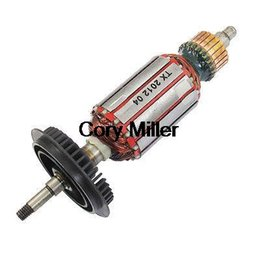 Wholesale GWS mm Drive Shaft AC V Electric Motor Rotor w Cooling Fan order lt no track