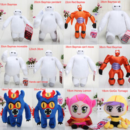 Wholesale 18 cm styles Big Hero Baymax Stuffed Animal Plush Toys With Tag Dolls For Children
