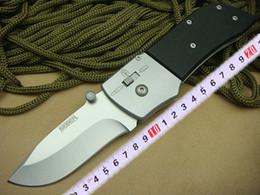 Top quality OEM SEBER Tactical folding knife 440 blade 58HRC G10 handle EDC pocket folding knife