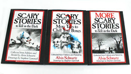 Wholesale 2016 More Tales to Chill Your Bones Scary Stories to Tell In the Dark More Scary Stories to Tell in the Dark