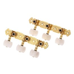 Wholesale Alice AOS B1P High Quality Left right Classical Guitar Tuning Pegs Keys Plated Tuner Guitar Machine Head String Tuner I1062