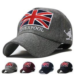 Wholesale New Arrival men s and women s Famous brand cool cap amp hat Outdoor Fashion letter liverpool Woolen cheap baseball cap