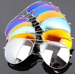 Wholesale Colors Hot Sale Promotion Fashion Men Women Coating Frog Mirror Aviator Pilot Reflective Sunglass Oculos De Sol Gafas SU1