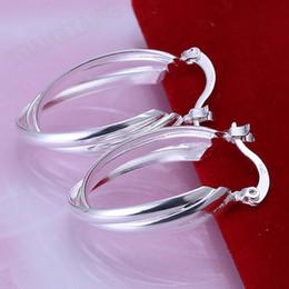 Free shipping 925 sterling silver Crystal earrings,925 sterling silver jewelry, wholesale fashion jewelry LKNSPCE158