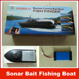 Wholesale Newest JABO BL JABO BS Sonar Bait Fishing Boat w Fish Finder Upgraded Jabo B DHL