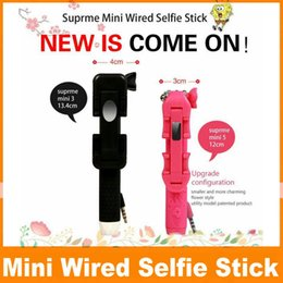 Wholesale NEW Choise Supreme Mini Wired Selfie Stick Set Secret Garden Flower Style Gift Beautiful Girl s Favorite Pocket Extending To cm OM CA1