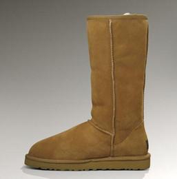 Europe Genuine Leather fashion brand women snow boots Designer boots Luxury brand women's Handmade sewing snow boots.