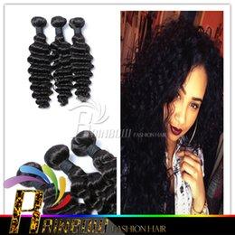 7A Brazilian Deep Curly Virgin Hair 3Pcs Unprocessed Brazilian Virgin Hair Curly Human Hair Extensions Cheap Brazilian Deep Wave