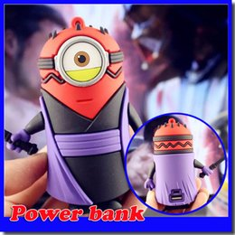 Wholesale Star Phone Batteries - Star wars power bank 8000mah power bank funny face battery charger for mobile phone free shipping.