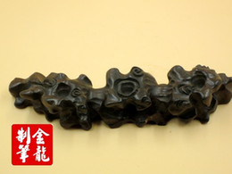 Wholesale Solid wood antique root curved pen High quality solid wood pen Brush rack pens Traditional root carving art