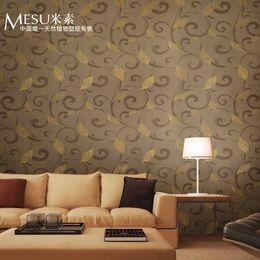 Modern 3D Wallpaper Brown Wall Paper Flower Wall Papers For Living Room Papel De Parede Wallpaper Roll