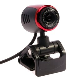 Wholesale USB2 M PC Camera HD Webcam Camera Web Cam with MIC for Computer PC Laptop Support CC2000 AIM Netmeeting ICQ MSN Skype