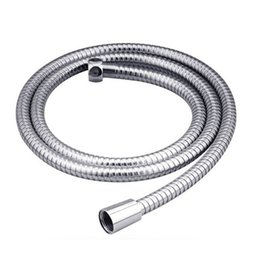 Wholesale 1pc M New Flexible Chrome Stainless Steel Bathroom Bath Shower Water Replacement Hose Pipe DP676094