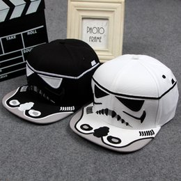 Wholesale Cool Caps For Women - 2015 New arrival Fashion Brand Star Wars Snapback Caps Cool Strapback Letter Baseball Cap Hip-hop Hats For Men Women