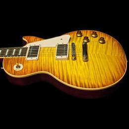 Wholesale new arrival high quality Reissue Heritage Cherry Sunburt electric guitar