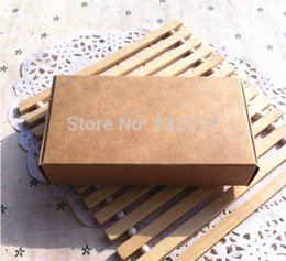 Wholesale cm Brown Carton Kraft Box Gift Packing Boxes Soap Packaging Storage Item A2