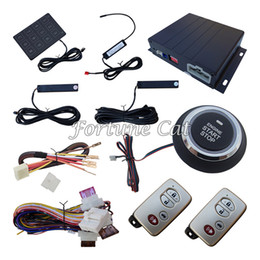 Wholesale Smart PKE Passive Keyless Entry Car Alarm System With Remote Start Automatic Lock Or Unlock