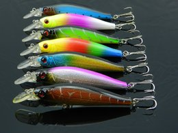 Wholesale 8pcs Jointed Fishing Lures CM hooks fishing tackle equipment pesca fish bait hard artificial lure wobbler minnow