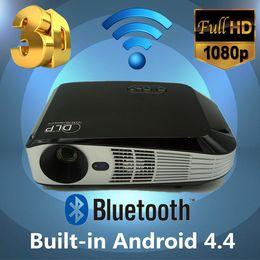 Wholesale Full D Format HD Projector K LED Video TV DLP Beamer lumens x800 P HDMI WIFI