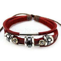 SSHINE Leather Bracelet Women And Men Charm Bracelets Fine Cuff Bracelets Bracelet Men Pulseiras Masculinas