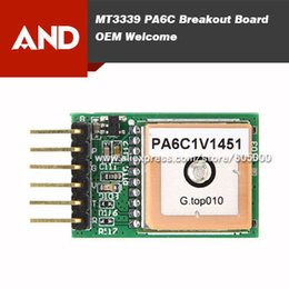 Wholesale PA6C breakout board patch gps antenna UART TTL data output input Hz bps