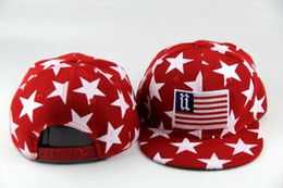 Wholesale FASHION AMERICAN NATIONAL FLAGS EMBROIDERED STINGY BRIM HATS MEN WOMEN Knit Hats And Snapback Caps SPRING Winter