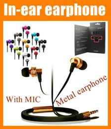 El bajo piso en Línea-Awei ES900i en la oreja los auriculares con micrófono de metal cable plano estéreo bajo estupendo elegante ruido sonido aislamiento de auriculares para el teléfono celular del ipad EAR010