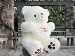 stuffed plus animals beige color Giant Big Plush Teddy Bear Soft Gift for Valentine Day Birthday 50cm   20inch
