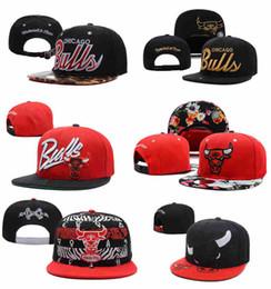 Wholesale 2015 Chicago Bull Snapback Caps Adjustable Basketball Snap Back Hats Black Trukfit Hip Hop Snapbacks High Quality Players Sports
