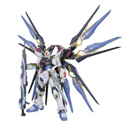 Wholesale Daban Model New Gundam Seed PG ZGMF X20A Strike Freedom Mobile Suit kids toys Robot Action Figure Assembled Toys Anime