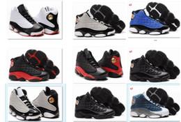 9colorFree Livraison 2015 Enfants bleu et blanc Dentelle D13 rétro basket-ball de sport pour les enfants Taille en gros de chaussures de course: 28-35 à partir de lacets blancs gros fabricateur