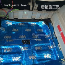 Wholesale Car sound insulation Drop soundboard Deadening Door car trunk Acoustic panels Noise pad Only shock board Shockproof board