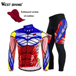 Wholesale-New Men Sportswear Riding Clothing Pro Road Mountain Bike Jerseys Sets Breathable Quick Dry Bike Bicycle Cycling Jersey Suit