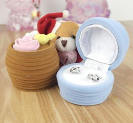 New Velvet Ring Box,cute fashion shape design,Jewelry Display Gift Case,sold per bag of 20 pcs