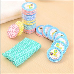 Wholesale Outdoor Camping Compressed Towel Eco Friendly Compressed towel face towel tourism Travelers preferred