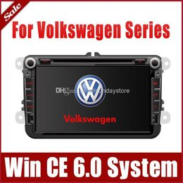 Wholesale 8 quot Car DVD Player for VW Volkswagen Touran Tiguan Sharan Scirocco Polo Bora w GPS Navigation Radio BT TV USB SD AUX Audio Video