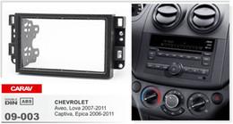 Wholesale CARAV Radio installation dash mount kit stereo install for CHEVROLET Aveo Lova Captiva Epica DIN