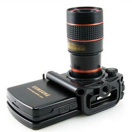8x Zoom Telescope Lens Telephoto + Universal Holder for Mobile Cell Phone Camera