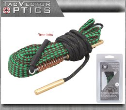TACVector Optics .223 5.56mm .22 Caliber Rifle Barrel Bore Snake Rope Fast Cleaning with Brush Gun Oil Boresnake Accessory Kit