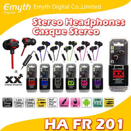 HA FR201 Xtreme-Xplosiv High Quality Stereo Headphones Casque Stereo Remote Microphone Colors for iPhone Samsung LG etc. factory price