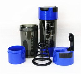 Wholesale Hot Protein Shaker in Protein Cup ml Blue Sports Water Bottle Protein Cup
