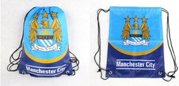 Wholesale Football Team Chelsea Backpack Fashion Sports Soccer Club Chelsea Badge Storage Shoe Bag Gift Z00763