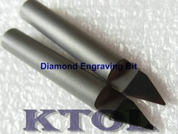 Wholesale 45 Angle mm NEW PCD Diamond Tools BEST for granite marble stone engraving on sales
