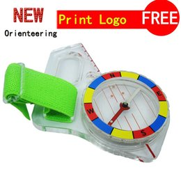 Wholesale Outdoor professional thumb compass elite competition orienteering compass CH310FS