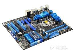 Wholesale For Asus P8P67 original motherboard Socket LGA DDR3 P67 GB for i3 i5 i7 CPU Desktop motherboard